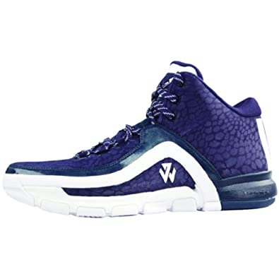 adidas J Wall 2.0 Mens Basketball Shoes 5 Navy White 11cce0800