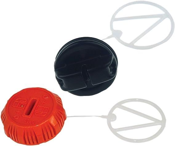 Genuine Echo P021036960 + P021007630 Set of Oil + Gas Cap Fits CS-370 CS-370F CS-400 CS-420ES CS-450 CS-450P CS-530 Chainsaws