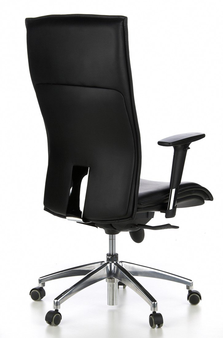 HJH Office MURANO 20 Silla de oficina Negro 52.0x59.0x133.0 cm