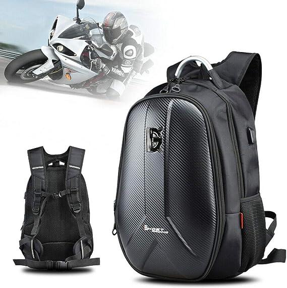 48 * 35 * 22 cm Mochila para moto, tela Oxford, mochila impermeable multifunción, mujer y hombre para ciclismo de viaje/escalada/deportiva/camping al ...