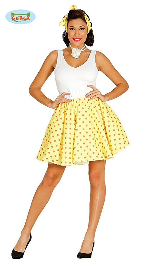 Pin Up Anni 50.Amazon Com Guirca 1950s Womens Yellow Pin Up Housewife