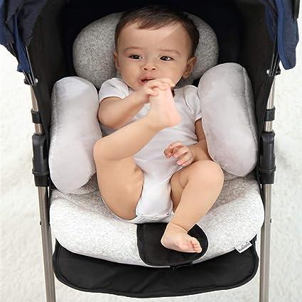 stroller travel head support pillow MINKY FLEECE Infant Baby Toddler car seat