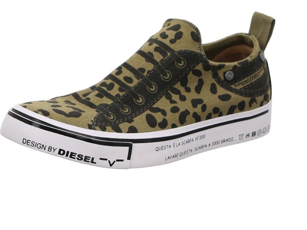 Diesel - Zapatillas de Lona para Hombre 42 EU|Olive Drab (Y01700-ps402-t7415)