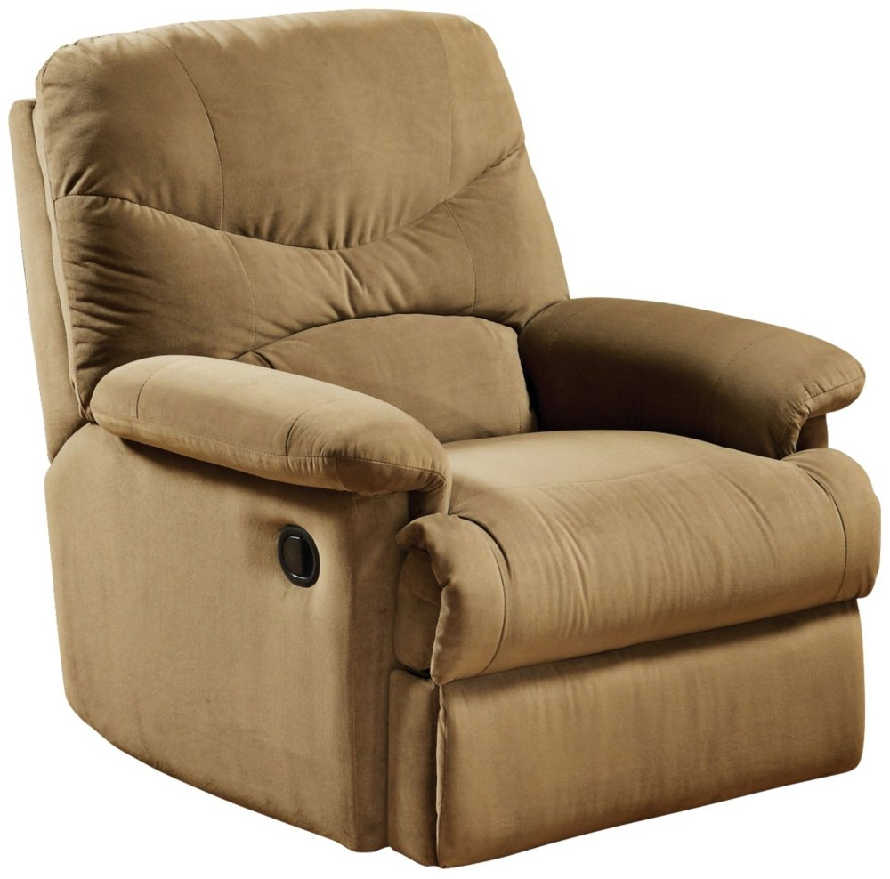 Amazon.com Microfiber Glider Recliner in Chocolate by Acme Furniture Kitchen u0026 Dining  sc 1 st  Amazon.com & Amazon.com: Microfiber Glider Recliner in Chocolate by Acme ... islam-shia.org