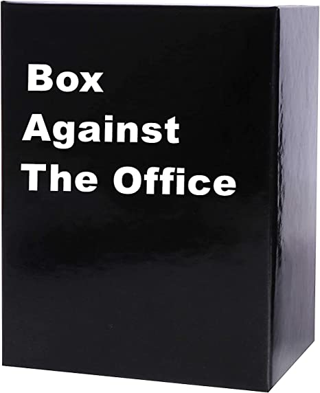 Box Against The Office Special Edition with 352 Cards - A New Party Game for Adult