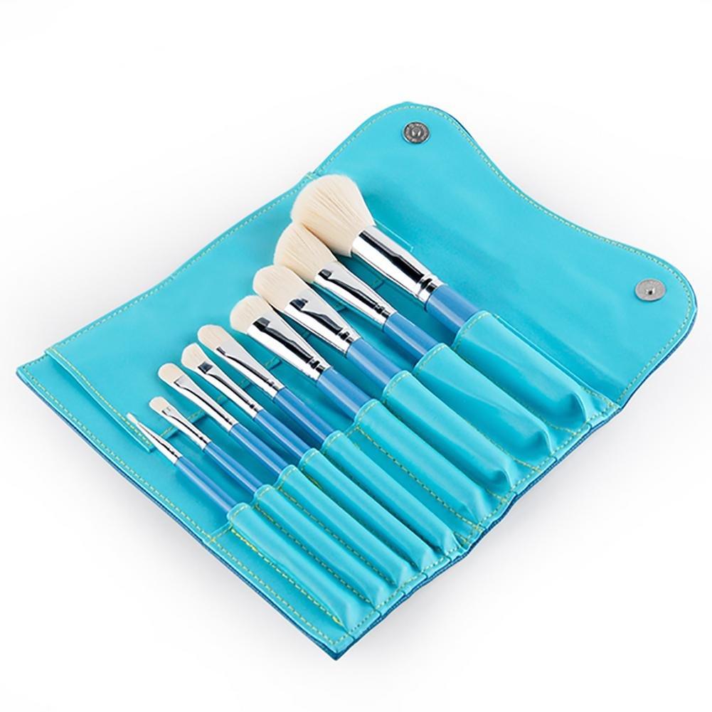 GUO Outils de beauté 9 pinceau portable pour les débutants réglé