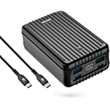Zendure Power Bank, SuperTank 27,000mAh External Battery with Dual USB-C PD (100W&60W) and USB-A (15W&18W), QC 3.0 Portable Charger for USB-C laptops, MacBook, iPad Pro, Nintendo Switch, etc.-Black