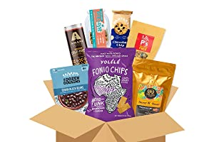 Healthy Care Package (6 Count) Black Owned Brands, Natural Food Bars, Health Nutritious Snacks, Variety Gift Box, Pack Assortment, Basket Bundle, Mix Sampler College Students