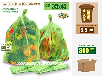 Bolsas para basura orgánica biodegradables y compostables ...