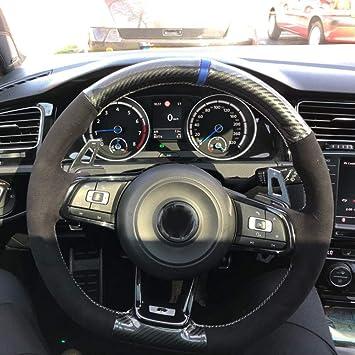 WYYYFA Cubierta para el Volante,para Volkswagen Golf 7 GTI Golf R ...