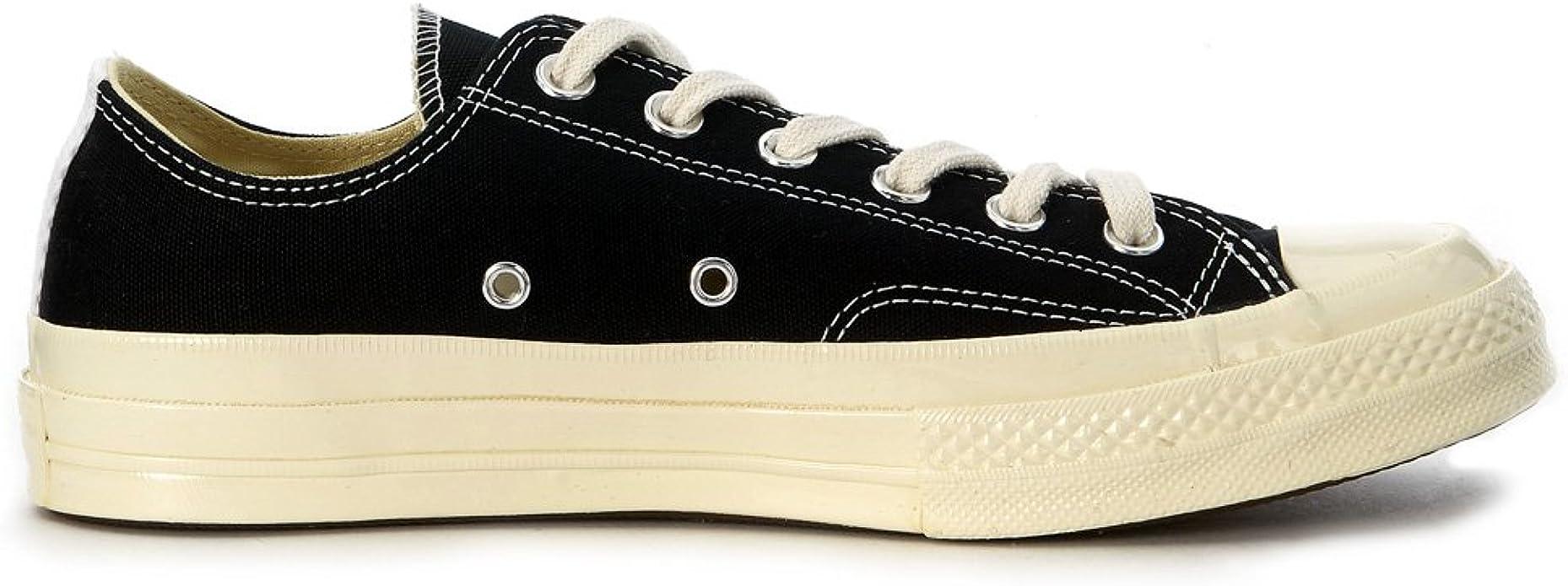 Amazon.com | Comme Des Garçons Play Men's Sneaker Comme Des ...