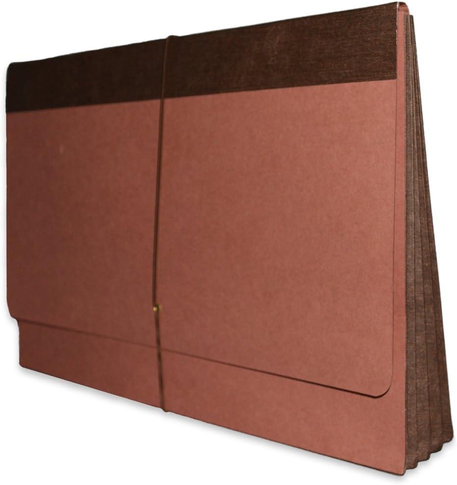 "Legal Size Orange 25//ct Fibre-Guard®  5 1//4/"" Tyvek Expansion File Pockets"