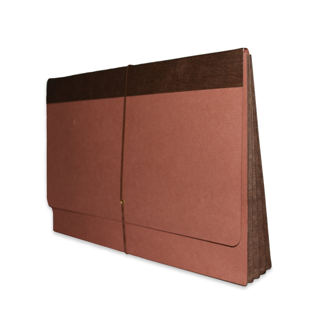 Fibre-Guard Expanding Wallet, Legal Size with 3 1/2'' Fully Reinforced Tyvek Gusset, Elastic Tie Closure, 25 per Carton