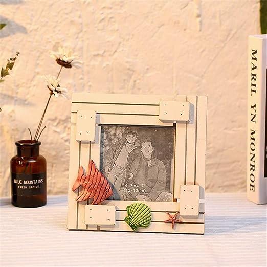 LPHOTOCX Marcos De Fotos Mesa Antigua De Madera Maciza De Estilo ...