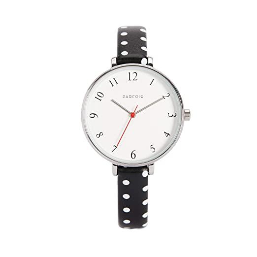 Parfois - Reloj Casual Silver Tray - Mujeres - Tallas Única - Negro