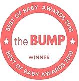 Boon, Soak 3-Stage Bathtub for Babies,Gray, White