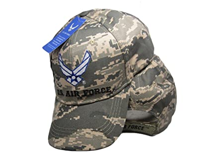 4dc07b0cfb1 U.S. Air Force Wings ACU Digital Camo Embroidered Cap Hat Licensed (ACU  2)