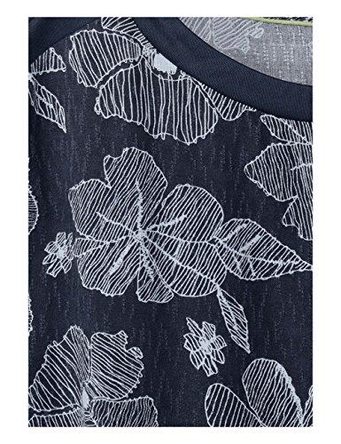 Cecil Mehrfarbig Deep Kleid 20128 Damen Blue P7wPgqpr