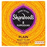Sharwood's Plain Large Puppodums (8 per pack - 94g)