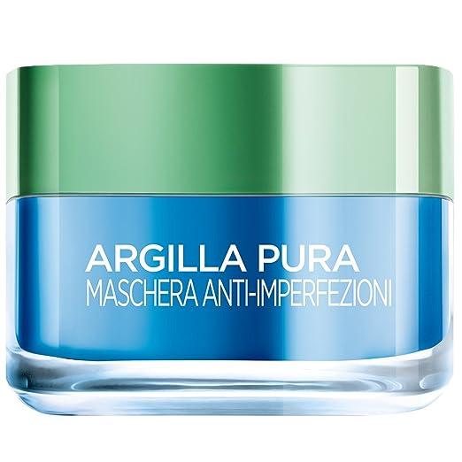 233 opinioni per L'Oréal Paris Argilla Pura Maschera Viso Anti-Imperfezioni, 50 ml