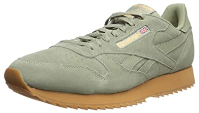 f09e38ef63b1b Reebok Men's Classic Leather Sneaker, Manilla Light/Orange ice/Gum, 10.5 M  US