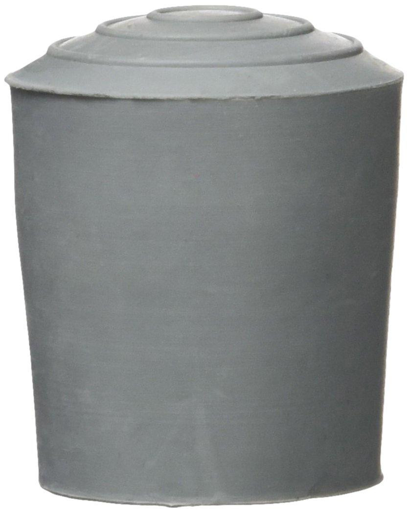 Sysfix 3170703 Contera Andador de Goma, Diámetro 25 mm, Color Gris - 4 Conteras