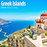 Greek Islands 2019 16 Month Wall Calenda...
