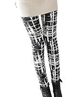 Wei Ding Mao Women Printed Leggings Base Layer Pants Long Trousers For Shirt Hoodie