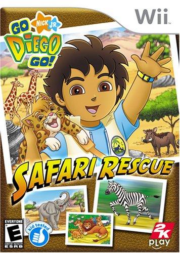 Go Diego Go Safari Rescue - Nintendo (Rescue Wii)