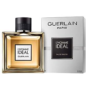 Guerlain L'homme Ideal Eau De Toilette Spray for Men, 3.3 Ounce