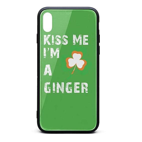 newest 8995b 66c7b Amazon.com: Kiss Me Im Irish Shamrock St Patricks Day Personalised ...