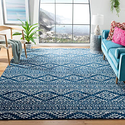 Safavieh Tulum Collection TUL272N Moroccan Boho Tribal Non-Shedding Stain Resistant Living Room Bedroom Area Rug, 8′ x…