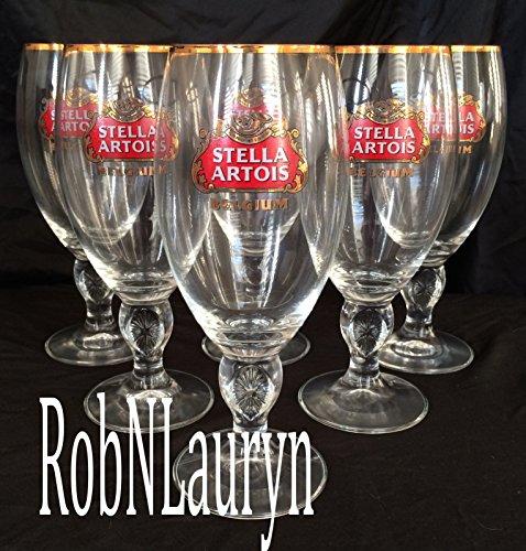 Stella Artois Grade Chalice Glasses
