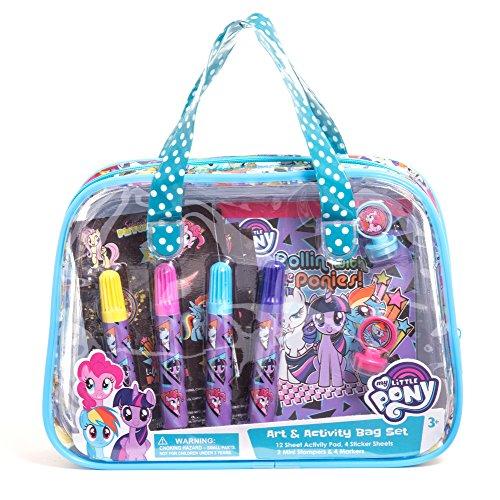 ren Kids Girls Art and Activity Supplies Bag Set 22pcs Ages 3+ ()