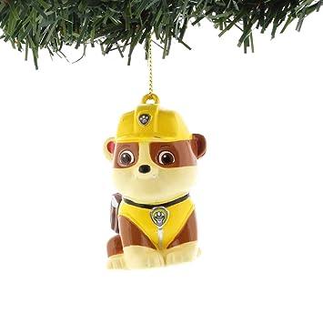 Paw Patrol Christmas Ornament.Nickelodeon Paw Patrol Kurt Adler Ornaments Gift Boxed Rubble