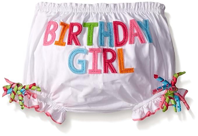 Amazon Mud Pie Baby Girls Birthday Crawler And Bloomer Clothing
