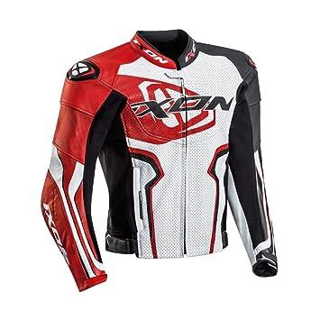 Ixon Falcon JKT 1002010412017 chaqueta moto, color blanco ...