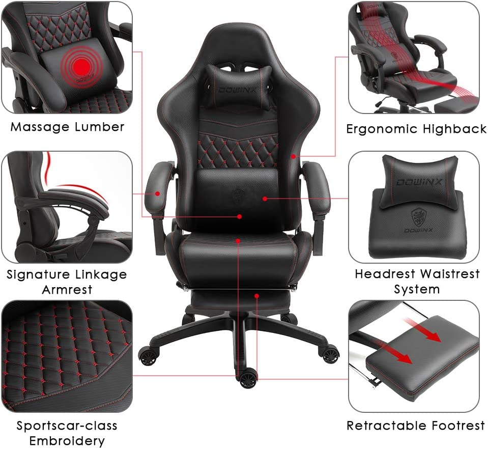 61iGCEEfWTL. AC SL1001 - What is The Best Computer Chair For Long Hours Sitting? [Comfortable and Ergonomic] - ChairPicks