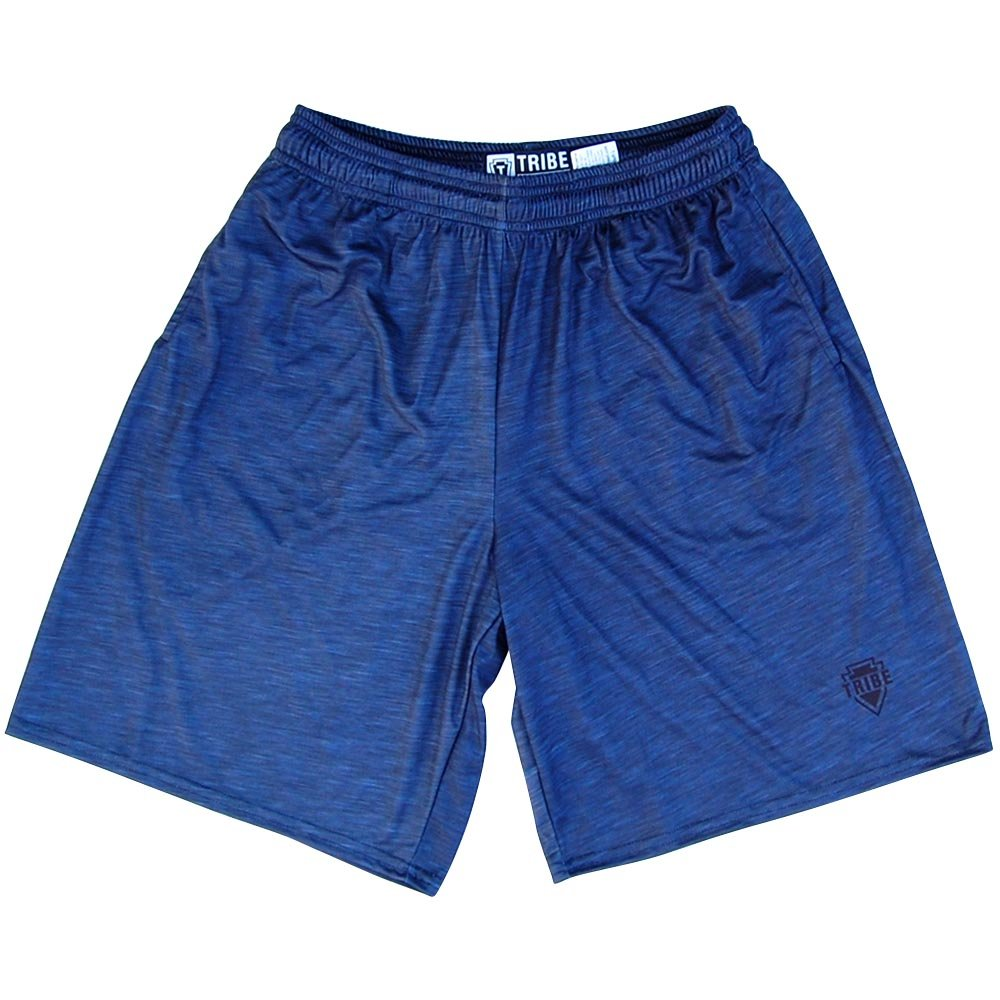 Navy Heather Lacrosse Shorts