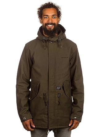 promo code 6c529 4f151 Coat Men Carhartt Clash Parka Coat: Amazon.co.uk: Clothing