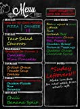 Menu Meal Planner Dry Erase Magnetic for Refrigerator. 3 YEAR WARRANTY - ...
