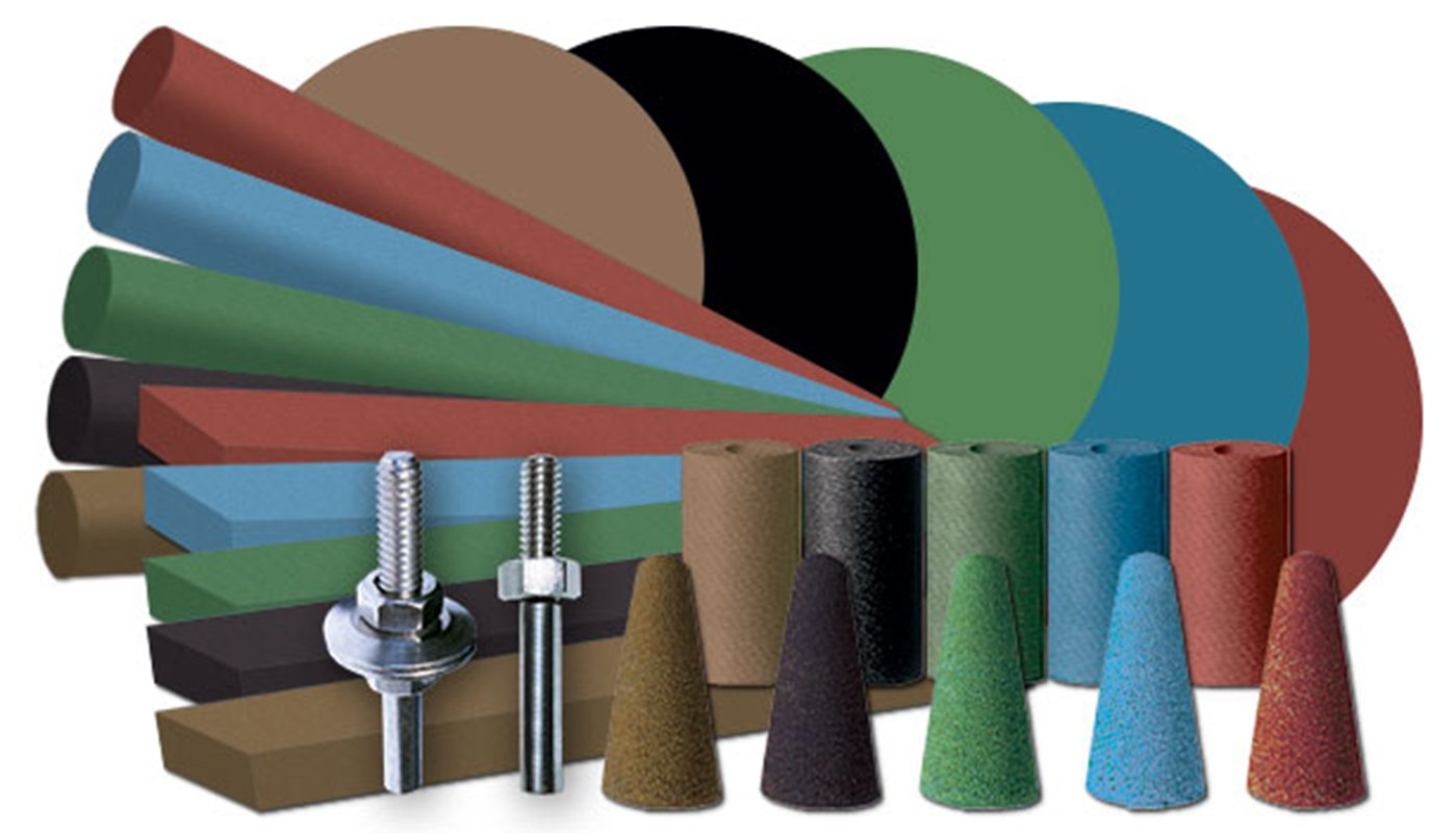 Dedeco 0011 Industrial Rubberized Abrasives Introductory Assortment Kit (Pack of 27)