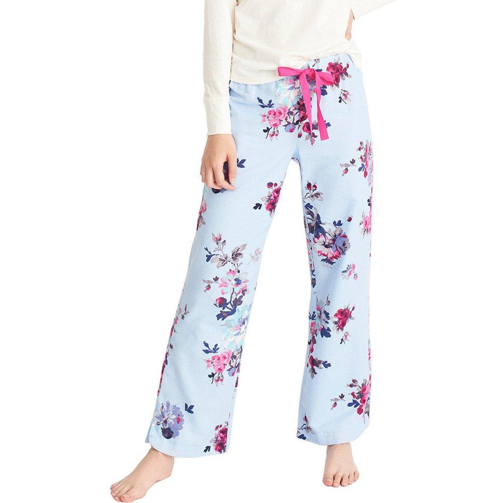 Joules Womens/Ladies Fleur Printed Woven Pyjama Bottoms