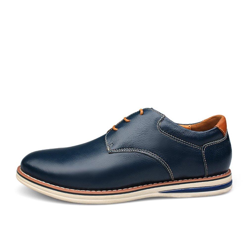 Feidaeu - Zapato con cordones Hombre 38 EU|Azul