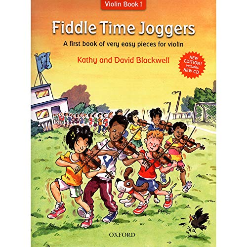 - Blackwell Kathy - David FiddleTime Joggers Book 1 for Violin and Piano with CD - Oxford University