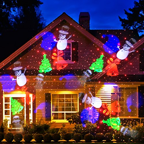 Laser Lights Christmas Outdoors