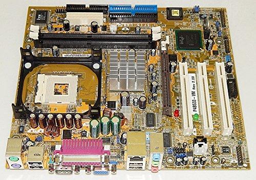 ASUS P4B533-VM INTEL 845G Socket-478 P4 DDR Micro-ATX Motherboard (Socket 478 Asus Motherboard)