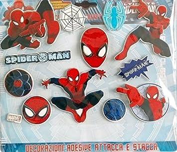 Spiderman Marvel Ultimate Dekoration Kinderzimmer Amazon De