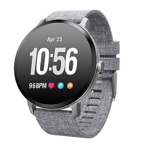 smart watch V11, Bluetooth Fitness Watch con Monitor De Ritmo CardíAco, CaloríAs De Control