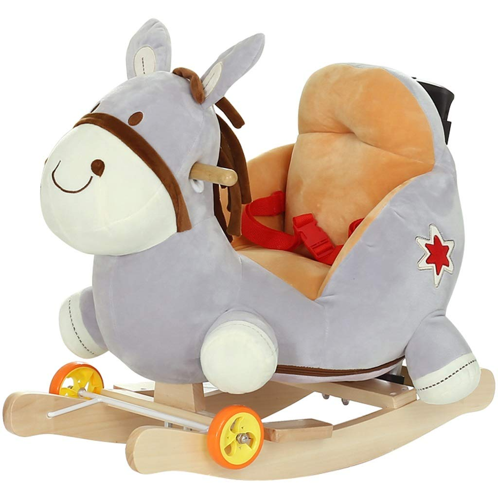 Amazon.com : FJH Childrens Rocking Horse Baby Toy Baby ...